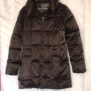 Apt 9 Big Brown Puffer Coat on trend made to belt